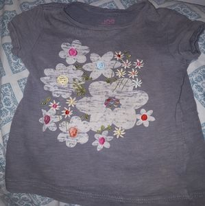 🌸 Joe Fresh   floral  tshirt    for girls 🌸